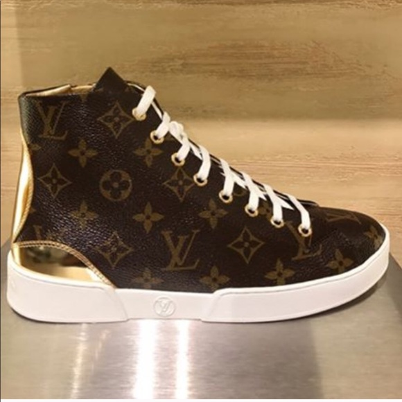 da2d0c1addb2 Louis Vuitton Shoes - LOUIS VUITTON STELLAR SNEAKER BOOT